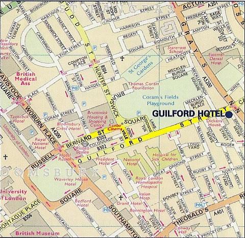 The Crestfield Hotel | Kings Cross, London Hotels